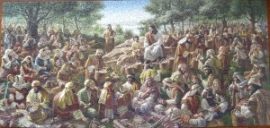 Jesus and the little boy feed 5000
